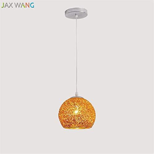5151BuyWorld Amerikaanse lamp, creatieve lampen, oorbellen voor koffie, premium kwaliteit, gordijnroede van ijzer, hanglamp, eenvoudige ballon, slaapkamer, restaurant decoratie, lichte accessoires