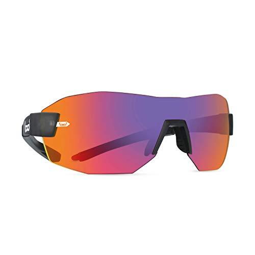 Gloryfy Unisex unbreakable (G9 RADICAL anthracite) -Unzerbrechliche, Sport, Rahmenlos, Herren, Damen, Sonnenbrille, Erwachsenen Brille