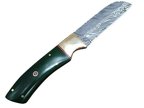 Perkin Handgemachte Messer Damastmesser Jagdmesser mit Scheide