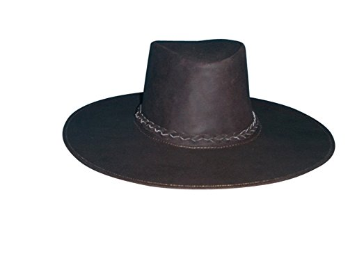 Sharpshooter Joe Kidd Clint Eastwood Bounty Hunter Brown Leather Cowboy Hat