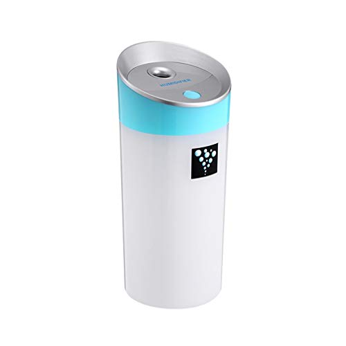 OUTAD Portable Travel USB Mini Ultrasonic Cool Mist Luchtbevochtiger Car Home Office Blue