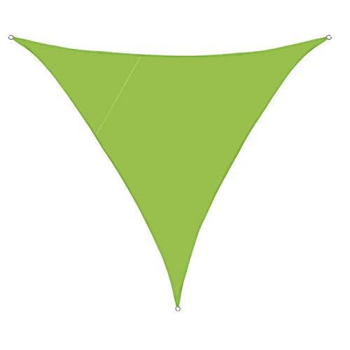 Sun Shade Sail Canopy, Sun Shade Canvas, waschbare Markise Anti-UV aus wasserdichtem Material für Terrassendecks und Outdoor-Aktivitäten,Grün,2M x 2M x 2M