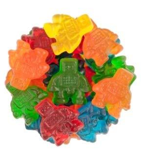 FirstChoiceCandy Assorted Robots Gummy Candy (2LB)