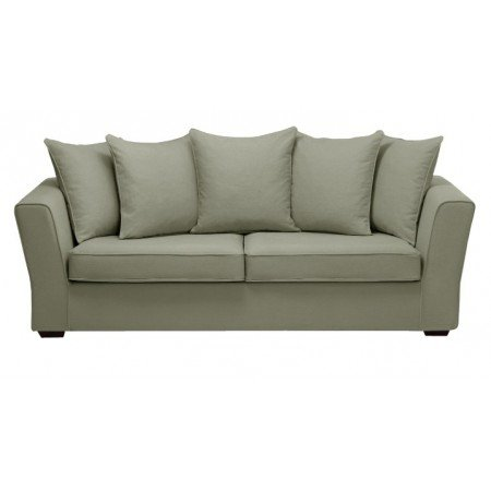 Home Spirit Fabrication française - Watson 3 Places 200 Cm Tissu Hopper 100% Polyester N° 8 Gris