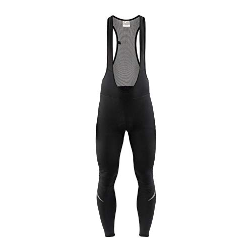 Craft Ideal Thermal Collant Bretelles vélo Homme, Noir, FR (Taille Fabricant : E: XL)