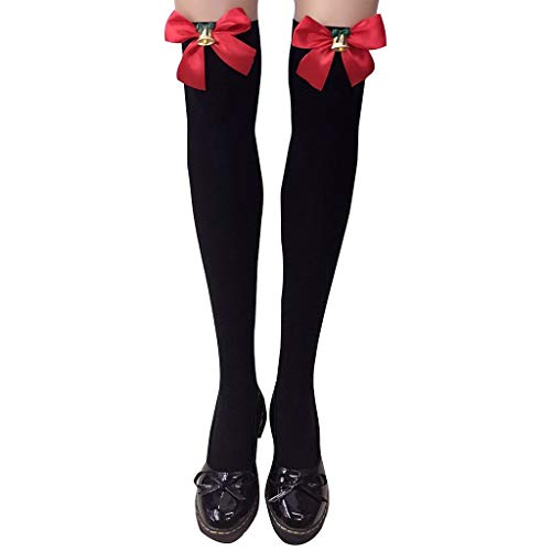 Gaowen Women Christmas Warm Long Boot Socks No Show Over Knee Thigh High...