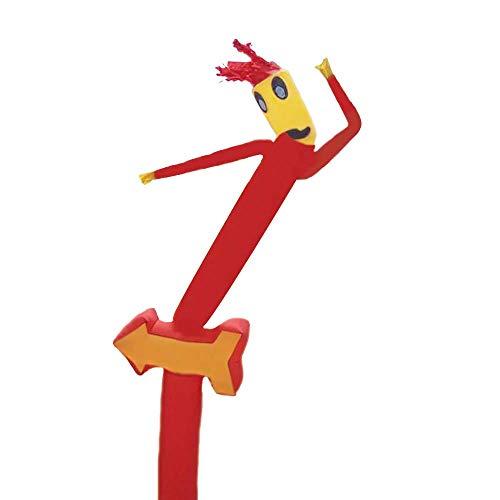 20 pies de marionetas Sky Air Dancer colores surtidos ARM baile del tubo Magic Man Castillo Inflable entretenimiento Señal excéntrico hombre de vuelo de Publicidad (nº 18 pulgadas soplador) 1yess