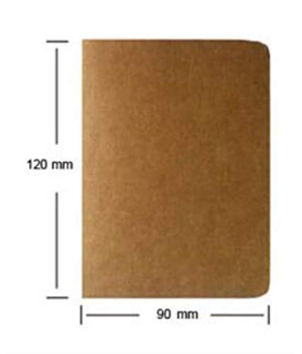 Heng koeienhuid papier schetsboek Bullet Journal schattig Notebook papier wekelijkse Planner accessoires briefpapier dagboek agenda reizen, 12x9cm