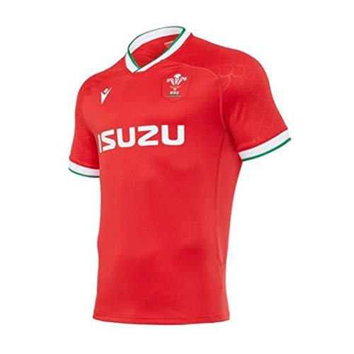 JIEBANG 2020-21 Rugby Clásico Jersey Gales del Hombre,Gales Local/Visitante Formación Divierte La...