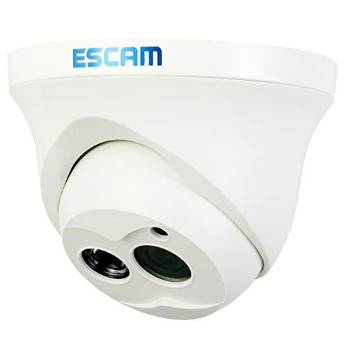 Camaras de Seguridad Cámara IP infrarroja H.264 720P LED Tipo búho, Lente Fija de ángulo Gran Angular de 70 Grados, 1,0 megapíxeles de Lente Focal Fija de 3,6 mm, detección de Movimiento/máscara de