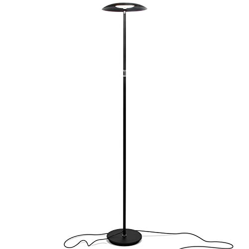Brightech Sky Downlight - LED Reading Floor Lamp for Offices...
