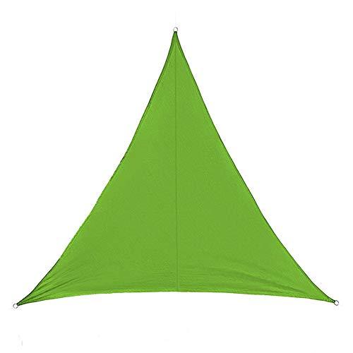 WZHIJUN Dom Vela de Sombra 3 × 3 × 3m Rectángulo Verde Impermeable Intemperie Jardín Terraza Patio Pérgola Decoración Toldo Vela De Dosel (Color : Green, Size : 4.5×4.5×4.5m)