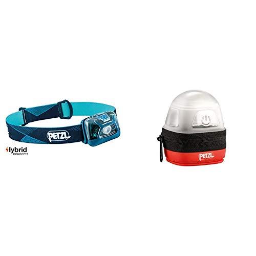 PETZL, Tikka, Blue, E93AAD Erwachsene Noctilight Stirnlampe Schutzhülle, One Size, Schwarz/Orange