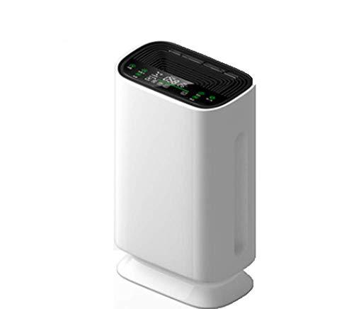 Los más vendidos Muebles para el hogar Purificador de aire para el hogar con filtro HEPA verdadero Purificador de aire de escritorio de velocidad de ventilador de 3 capas para cigarrillo Alergia al