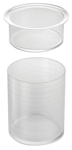 iDesign Clarity Organizador Diademas, 16.00x16.00x17.00 cm