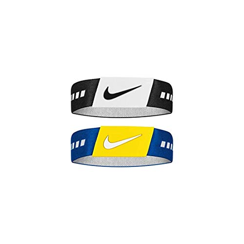 Nike Unisex– Erwachsene Baller Band Schweißband, Black/White/Rush Blue/White, XL/XXL