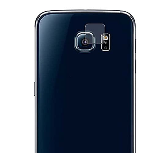 Vaxson 2 Unidades Protector de Lente de Cámara, compatible con Samsung Galaxy S6 SC-05G / G9200 G920 G9208 G9209 [No Vidrio Templado/Funda Case ] TPU Película Protectora
