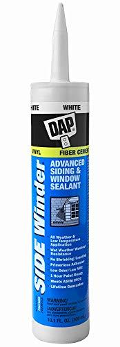 DAP 801 Caulk, 10.1 oz, White