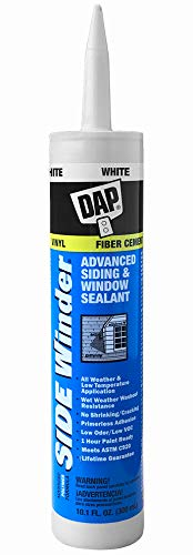 DAP 801 Caulk, 10.1 oz, White