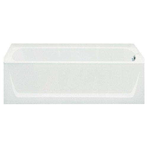 Ensemble Bathtub, 60-Inch x 32-Inch x 18-Inch, Right-Hand, White - STERLING 71121120-0