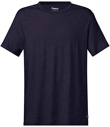Bergans Oslo Wool - T-Shirt Manches Courtes Homme - Bleu Modèle M 2019 Tshirt Manches Courtes
