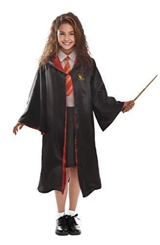 Ciao - Hermione Granger Déguisement pour fille original Harry Potter (Taille 5-7 ans), couleur noire, 11729.5-7