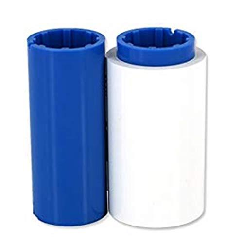 Cinta monocromática de color blanco compatible 800015-109 para impresoras Zebra P310i P320i P330i P420i P430i P520i P300, P310C, P310F, P400, P420C, P500, P520C, P620C, 1000 imágenes 800015-109
