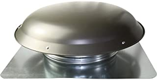 Cool Attic Power Roof Vent - 1400 CFM, Weathered Gray Finish, Model Number CX3000EEAMWG