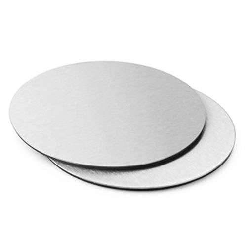 Jancery Cooking & Dining Coaster Sottobicchieri in Acciaio Inox per Bevande Conveniente Semplice ed Elegante