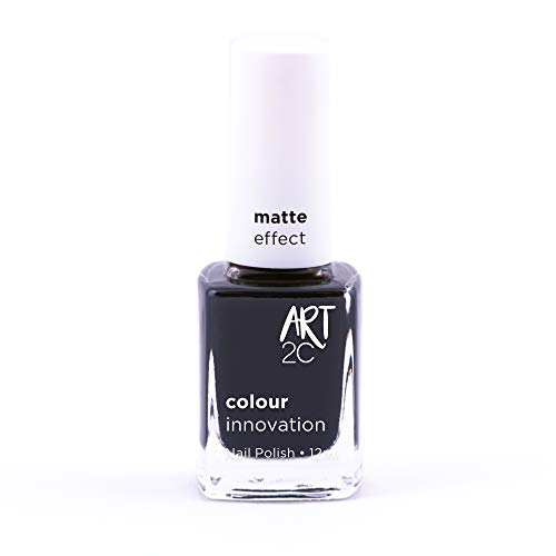 Art 2C - Esmalte de uñas efecto mate, 11 colores, 12 ml, color: @Night (MT31)