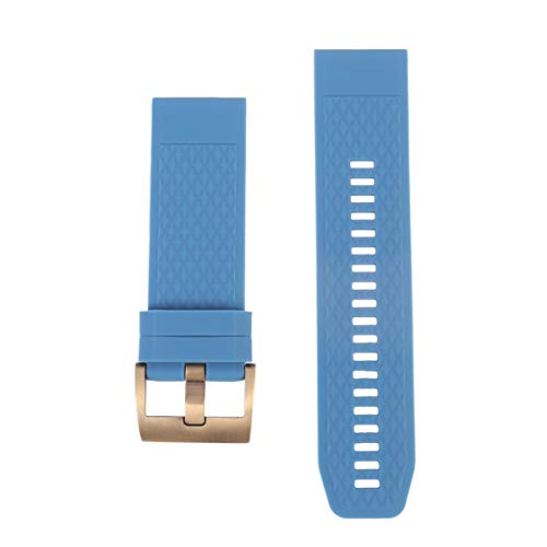 ibasenice silikon uhrenarmband ersatz sportuhr Armband Armband Armband kompatibel für Garmin Fenix 5X 3 3hr
