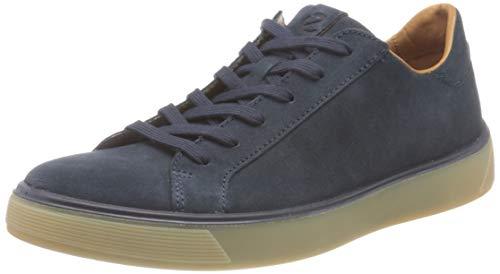 ECCO Herren Street Tray Sneaker niedrige Turnschuhe, Navy, 43 EU