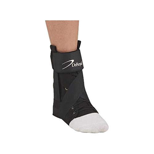 Deroyal Sports Orthosis Ankle Brace Powered by The Boa Closure System, Small