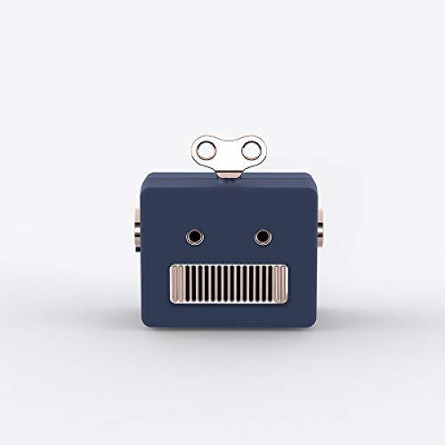 ERKEJI Mini Altavoz Bluetooth Apariencia de Robot Regalo de reducción de Ruido Inteligente