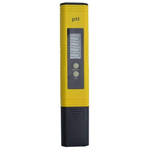 juqingshanghang1 Protable LCD Digital medidor de pH 16.00 Ph Prueba de penetración Acuario de Agua de la Piscina del Vino Llegan con Caja de plástico