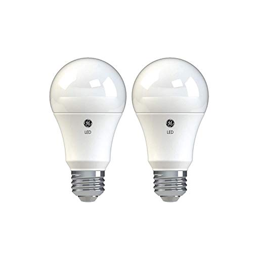 GE Basic LED Light Bulbs, 100-Watt Replacement, 2-Pack, Daylight, A19 LED Bulb, Medium Base