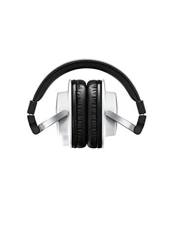 Yamaha HPH-MT5 Monitor Headphones, White, (HPH-MT5W)