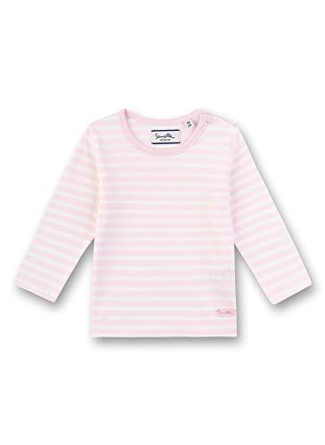 Sanetta Unisex Baby Langarmshirt Sweatshirt, Rosa (rosa 3609), 92 (Herstellergröße:092)
