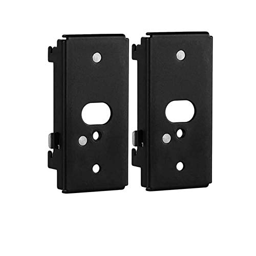 ECLINK Black Wall Mount Bracket for Bose SlideConnect WB-50 (UFS-20), Lifestyle 525 535 III, ifestyle 600, soundtouch 300 soundtouch 520, CineMate 520