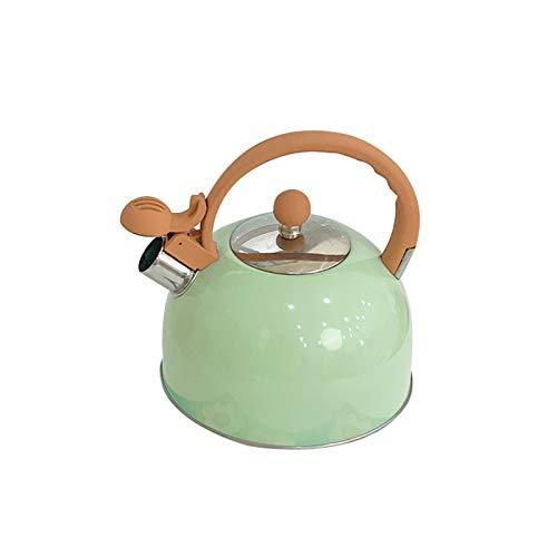 SQL Menta de Alto Valor Verde Fresco Color Puro silbido Kettle Inicio Inicio Inicio Cocina Té Casa Café General