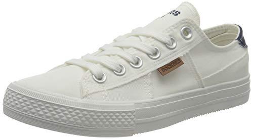 Dockers by Gerli Damen 40th208-790500 Sneaker, Weiß, 42 EU