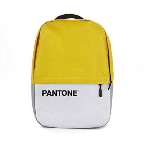 balvi Rucksack Pantone Farbe Gelb Mit USB-Kabel Mit Notebook-Tasche Polyester 44 cm
