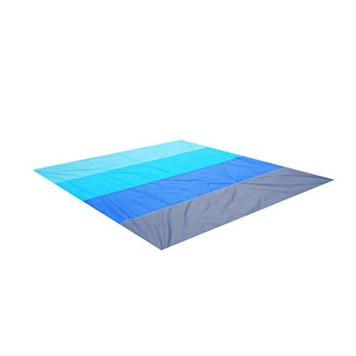 HSKB Stranddecke, Sandfreie Picknickdecke Campingdecke Strandtuch, Tasche Matten Schal Tapestry Chiffon Tischdecke Quaste Handtuch wasserdichte Schnell Trocknend/Ultraleicht/Tragbar