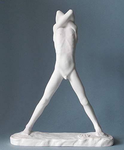 Pocket Art Sculpture - Adolescent - by George Minne, résine H 27 cm
