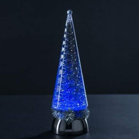 Féerie Lights et Christmas Sapin Lumineux pailleté Coloris Noir