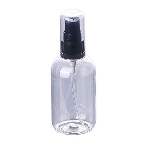 FafSgwq 50 / 80ml Recarga de Viaje portátil Botella de Spray de Perfume vacía Atomizador cosmético Botella de Spray de Perfume Botella de Perfume Transparent 50ml