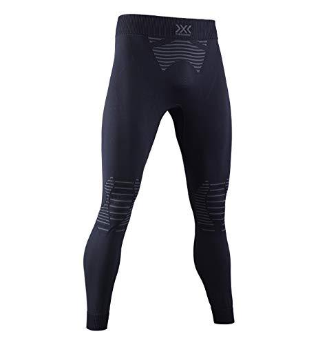 X Bionic Invent 4.0 Strato Base Pantaloni Funzionali, Uomo, Black/Charcoal, L