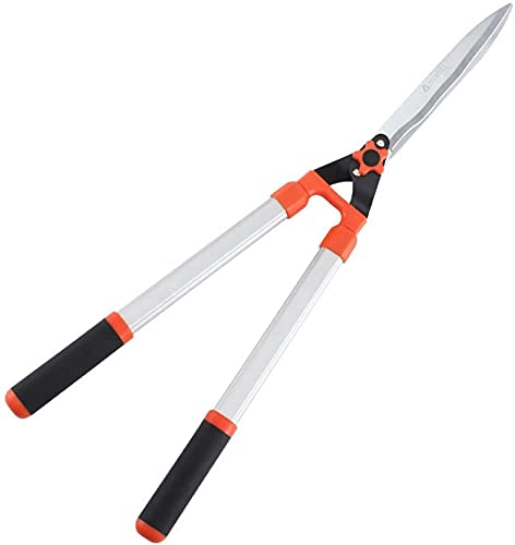 CAETNY Garden Loppers Long Handle Telescoping Hedge Scissors with Wavy...