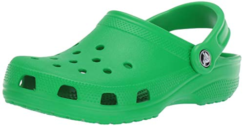 Crocs Classic Clog, Zuecos Unisex Adulto, Verde (Grass Green), 49/50 EU