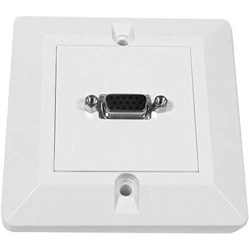 BeMatik - Caja pared canaleta 80x80 1 VGA tipo A